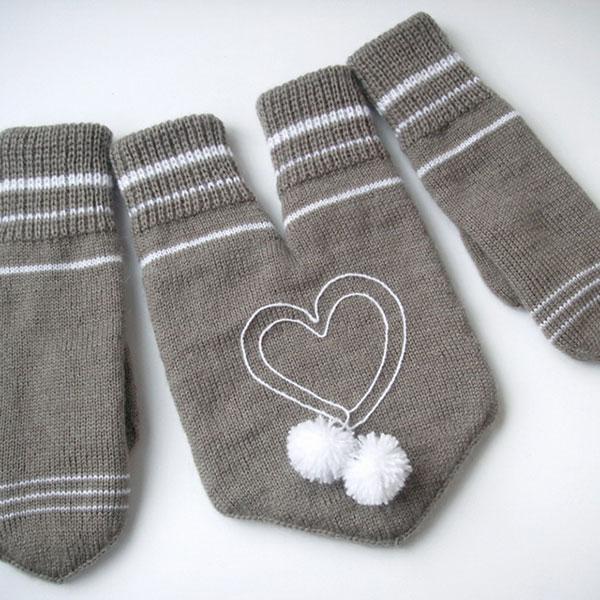 Прикольные перчатки два двоих