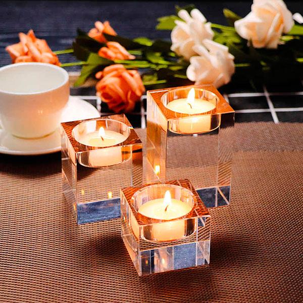 Декоративные свечи для романтического ужина