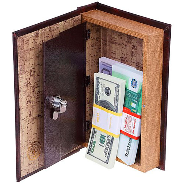 Книга-сейф для хранения заначек