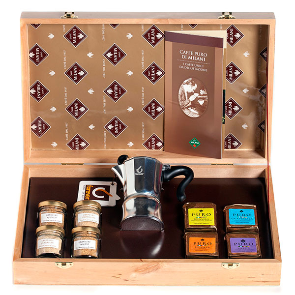 Набор элитных сортов кофе