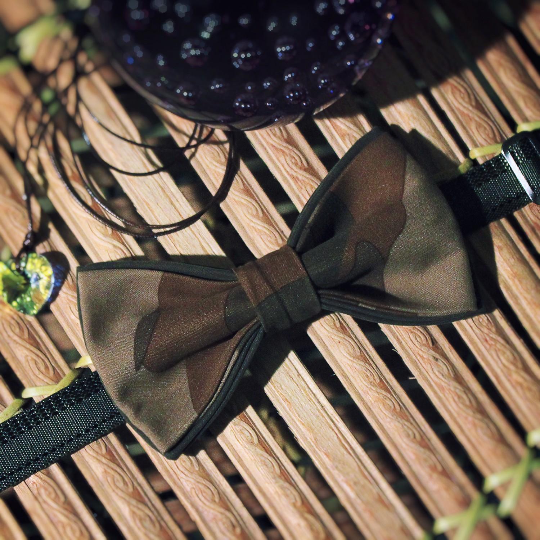 Бабочка с расцветкой камуфляж