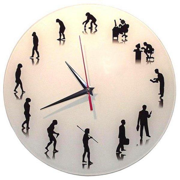 """Настенные часы """"Эволюция человека"""""""