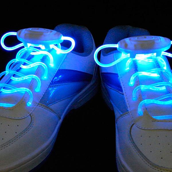 Неоновые светящиеся шнурки для модных кедов и кроссовок