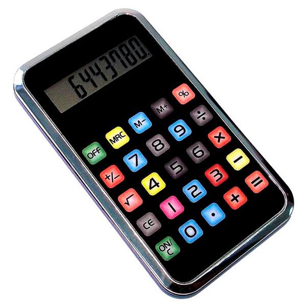 Калькулятор, имеющий внешний вид Айпад