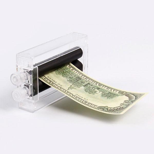 Шуточная машинка, которая сама печатает деньги