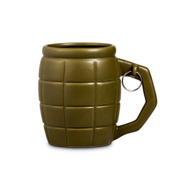 Оригинальная кружка в форме гранаты
