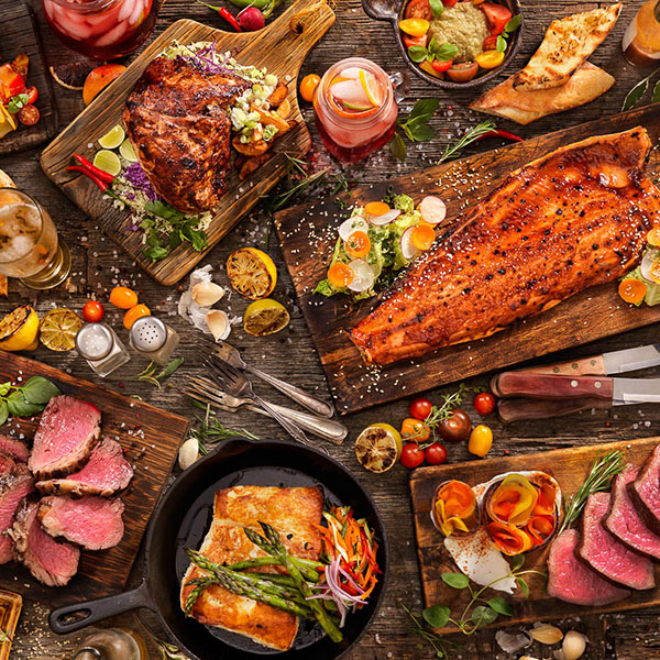 Ужин с безлимитным мясом
