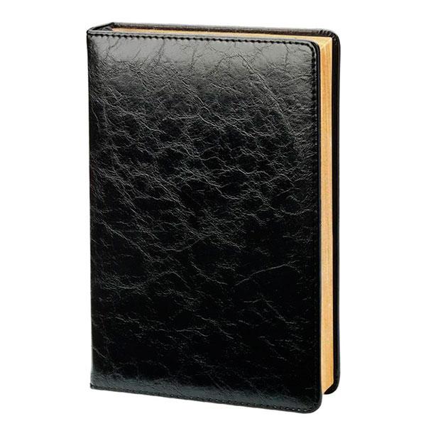 Датированный ежедневник в кожаной обложке