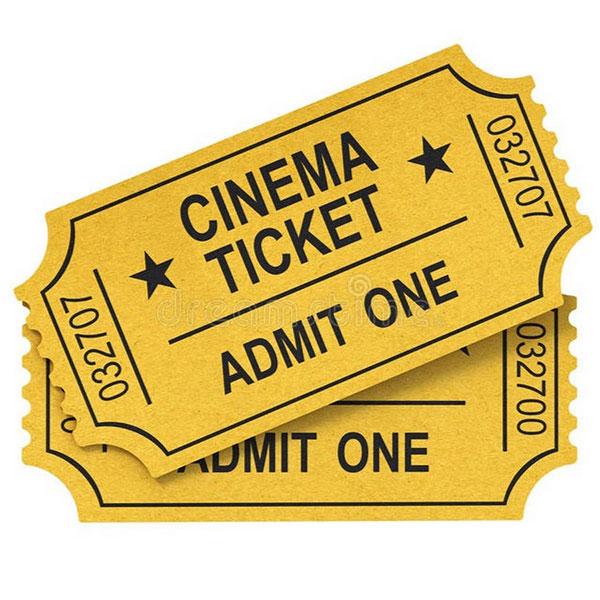 Билеты в кино на премьерный показ интересного фильма
