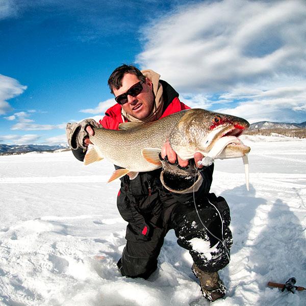 Сертификат на зимнюю рыбалку