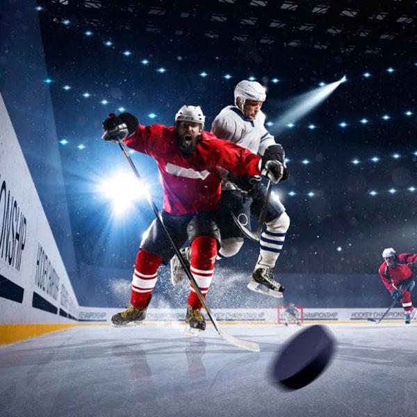 Два билета на посещение футбольного либо хоккейного матча