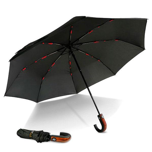 Качественный зонт с необычным дизайном