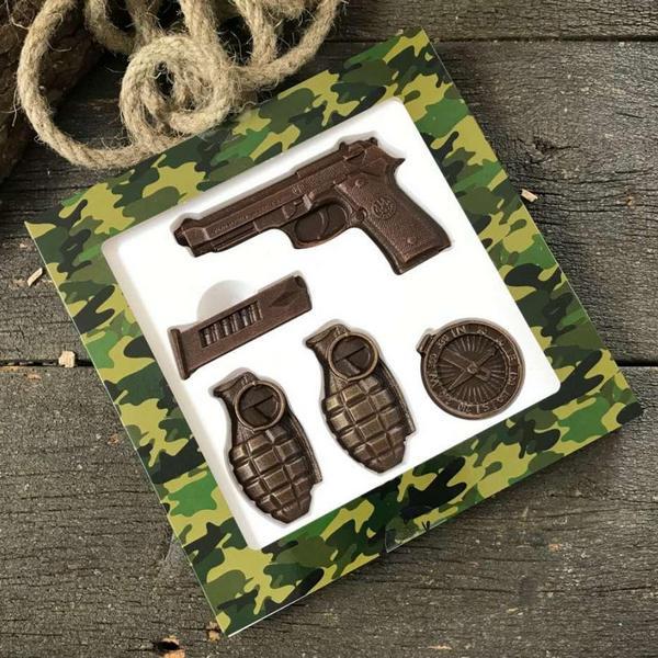 Боевые гранаты из шоколада
