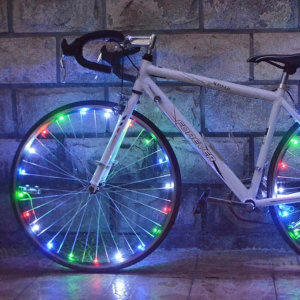 Подсветка на спицы велосипеда
