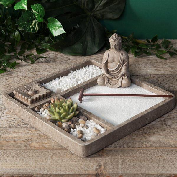 Сад камней для рабочего стола