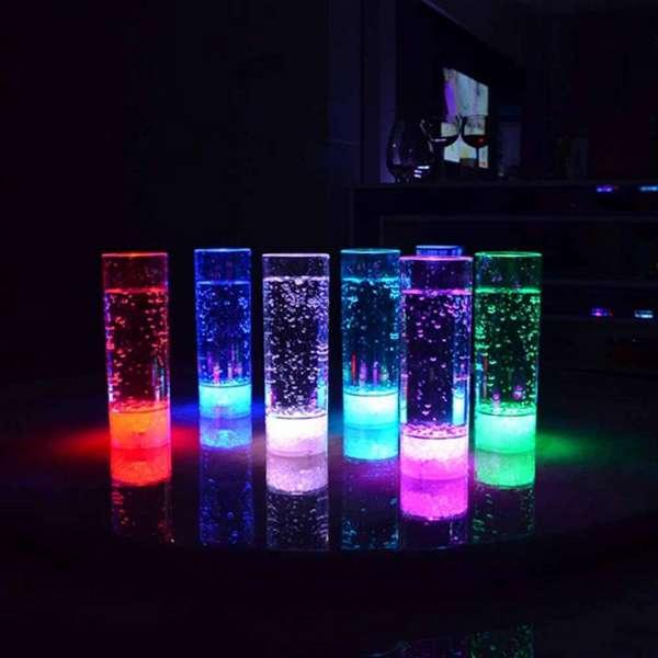 Набор светящихся стаканов