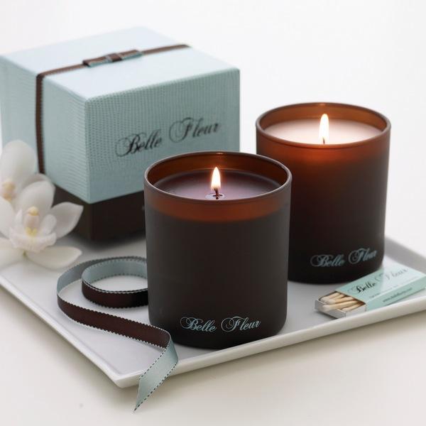 Декоративные ароматические свечи в подарок начальнице